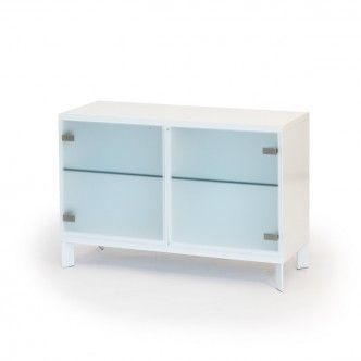 Mup cabinet with diagonal legs   W 104 D 39 H 70 cm